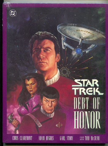 Star Trek Debt Of Honor 1 HC DC 1992 NM Sealed Adam Hughes Captain Kirk