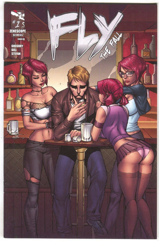 Fly The Fall 1 B 2nd Series Zenescope 2012 VF NM Ale Garza Variant