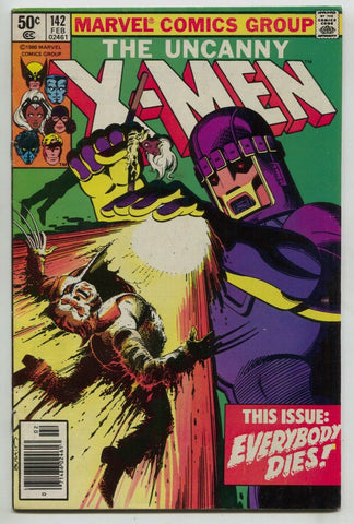 Uncanny X-Men 142 Marvel 1981 FN VF Days Of Future Past Wolverine