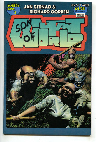 Son Of Mutant World 4 Fantagor 1990 FN Richard Corben Heavy Metal