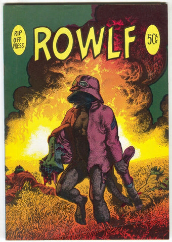 Rowlf 1 Rip Off Press 1971 FN 2nd Print Richard Corben Voice Of Comicdom