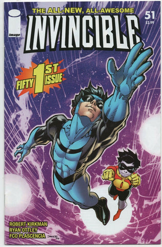 Invincible 51 Image 2008 NM Robert Kirkman Ryan Ottley Jim Lee
