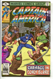 Captain America 240 Marvel 1979 NM Coney Island Arcade Pinball Chain Gang