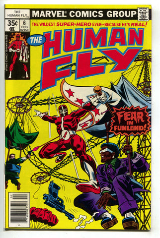 Human Fly 6 Marvel 1978 VF NM Ferris Wheel