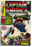 Captain America 129 Marvel 1970 VG FN Red Skull Stan Lee Jack Kirby Conan 1 Ad