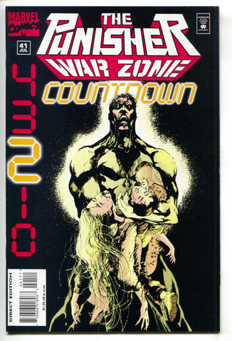 Punisher War Zone 41 Marvel 1995 NM Jae Lee Bullseye Countdown Final Issue