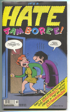 Hate Jamboree 1 Fantagraphics 1998 FN Peter Bagge