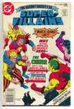 The Secret Society Of Super Villains 9 DC 1977 FN VF Kid Flash Creeper Trickster