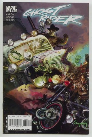 Ghost Rider 34 A 4th Series Marvel 2009 NM Arthur Suydam Jason Aaron