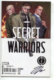 Secret Warriors 7 Marvel 2009 NM Signed Jonathan Hickman Dark Reign