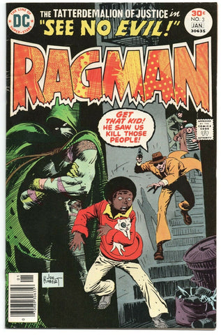 Ragman 3 DC 1977 FN VF Joe Kubert