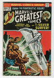 Marvels Greatest Comics 42 1973 FN Fantastic Four 72 Jack Kirby Silver Surfer