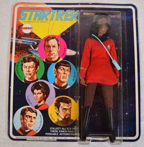 Star Trek LT Uhura Action Figure Mego 1974 MOC New