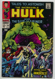Tales To Astonish 101 Marvel 1968 VF Incredible Hulk Sub-Mariner 1st Destiny