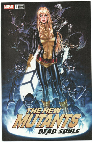 New Mutants Dead Souls 1 Marvel 2018 NM Mark Brooks Magik Variant