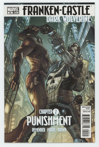 Franken-Castle 19 Marvel 2010 NM- Punisher Daken Wolverine Rick Remender