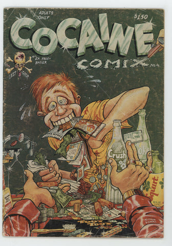 Cocaine Comix 4 Last Gasp 1982 VG George DiCaprio Robert Williams Clay Wilson