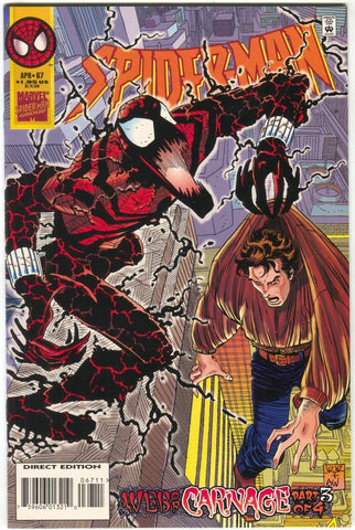 Spider-Man 67 Marvel 1996 NM+ 9.6 Web Of Carnage 3 Ben Reilly John Romita