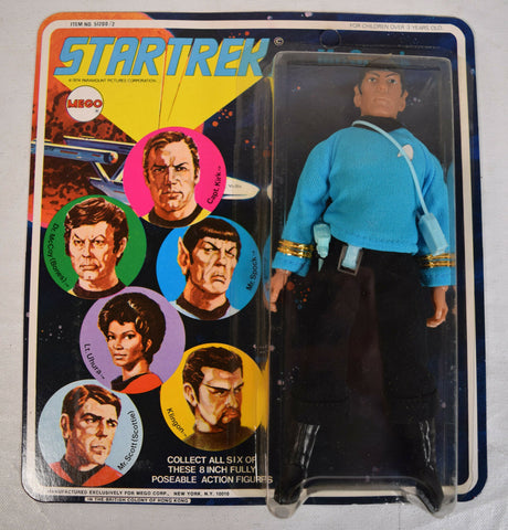 Star Trek Spock Action Figure Mego 1974 MOC New