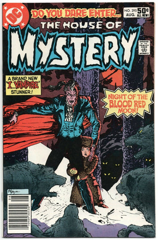 House Of Mystery 295 DC 1981 NM- Mike Kaluta I Vampire