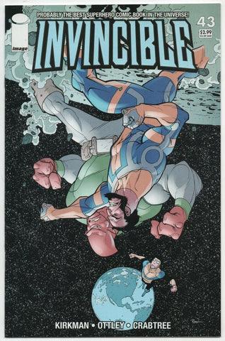 Invincible 43 Image 2007 NM+ 9.6 Robert Kirkman Ryan Ottley