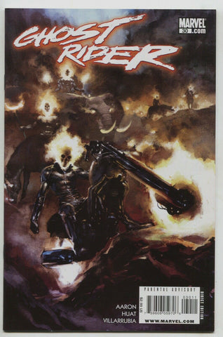 Ghost Rider 30 4th Series Marvel 2009 NM Gerald Parel Jason Aaron