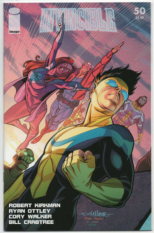 Invincible 50 Image 2008 NM David Williams Connecting Variant