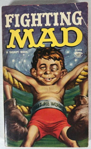 Fighting Mad Paperback Book Signet Wiliam Gaines Magazine 1st Print 1961