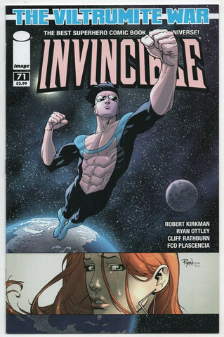 Invincible 71 Image 2010 NM- Robert Kirkman Ryan Ottley