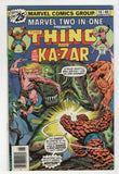 Marvel Two In One 16 1976 VF Thing Ka-zar Savage Land Fantastic Four