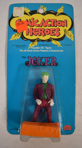 Comic Action Heroes Joker Action Figure Mego 1975 MOC New 3 3/4""