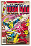 Invincible Iron Man 117 1978 Marvel VF NM Nick Fury Fantastic Four Ad