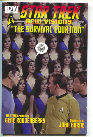 Star Trek New Visions 8 IDW 2015 NM John Byrne Survival Equation