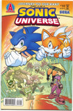 Sonic Universe 15 Archie 2010 NM Hedgehog Sega Tails Polybag