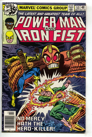 Power Man And Iron Fist 53 Marvel 1978 NM- Luke Cage Hero For Hire Misty Knight