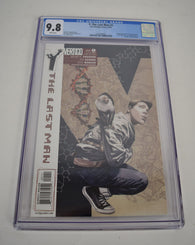 Y The Last Man 1 Vertigo 2002 NM/MT CGC 9.8 1st Yorick Brian K Vaughan JG Jones