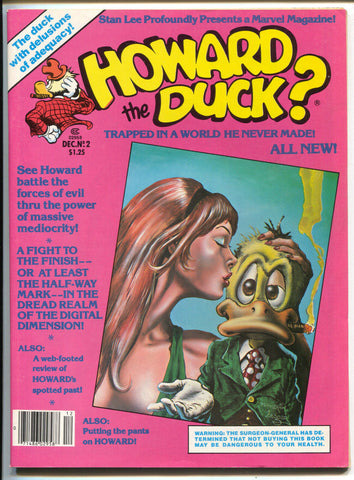 Howard The Duck Magazine 2 Marvel 1979 VF NM Bill Mantlo Klaus Janson