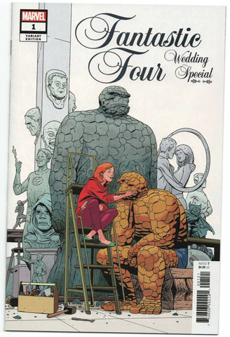 Fantastic Four Wedding Special 1 Marvel 2018 NM 1:25 Marcos Martin Variant