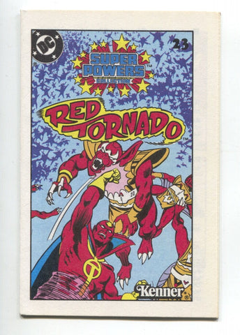 Super Powers Collection Mini Comic 23 DC 1983 NM+ 9.6 Kenner Red Tornado