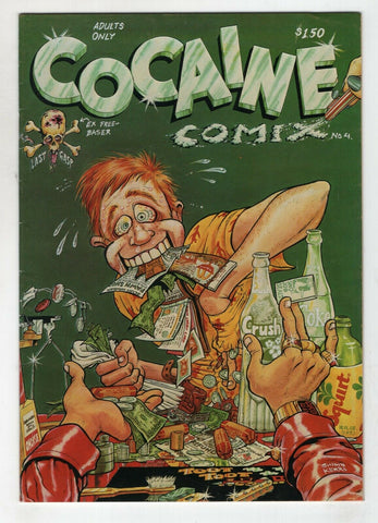 Cocaine Comix 4 Last Gasp 1982 VF George DiCaprio Robert Williams Clay Wilson