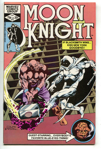 Moon Knight 16 1st Series Marvel 1982 FN VF Thing Fantastic Four