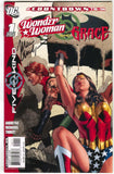 Outsiders Five Of A Kind 1 5 DC 2007 VF Wonder Woman Grace Signed Marc Andreyko