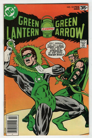 Green Lantern 101 1st Series DC 1978 VF Green Arrow Black Canary Mike Grell