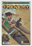 Frenemy Of The State 4 Oni 2010 NM Signed Rashida Jones