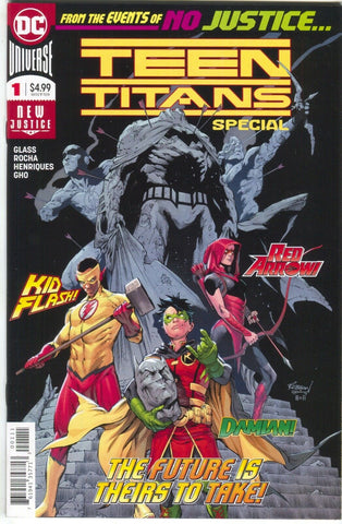 Teen Titans Special 1 DC 2018 VF 1st Crush Lobo Daughter Damian Kid Flash