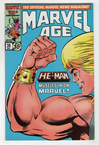 Marvel Age 38 1986 VF He-Man And The Masters Of The Universe Ron Wilson