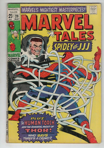 Marvel Tales 20 1969 FN Amazing Spider-Man 25 Strange Tales 118