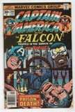 Captain America 206 Marvel 1977 FN Falcon Jack Kirby