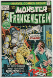 Monster Of Frankenstein 1 Marvel 1973 FN VF Mike Ploog Mary Shelley