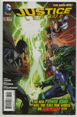 Justice League 31 A DC 2012 NM New 52 1st Jessica Cruz Green Lantern Geoff Johns